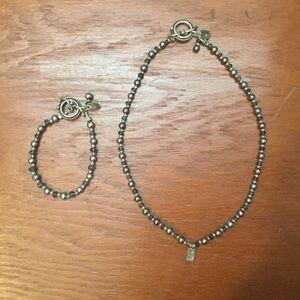 Sundance necklace and bracelet set